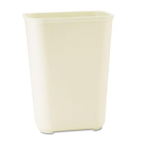 Rubbermaid 2544bei wastebasket fire retardant 10 gallon plastic beige replaces rcp2544bei rcp254400bg