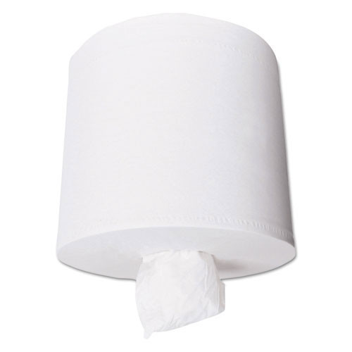 Scot paper hand towels center pull roll towel 2 ply white 4 500 8.8 inch dia 500 towels per roll case of 4 rolls
