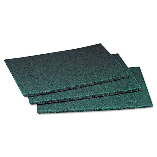 3M 96 ScotchBrite General Purpose Scouring Pad MMM08293 medium duty 6x9 inches green case of 60 pads MMM08293 replaces MCO08293