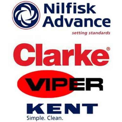 Nilfisk NF56414121 45 in cyl scrub assembly for Clarke Viper and Advance machines