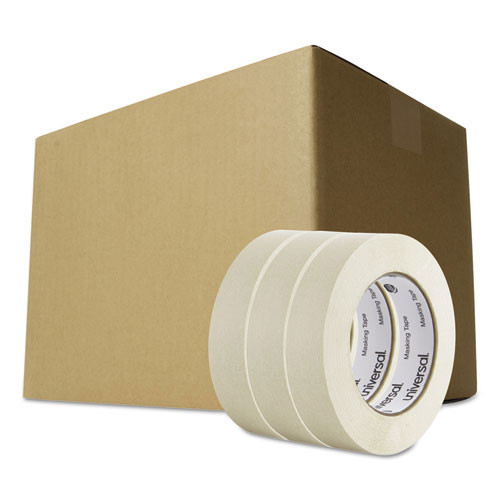 Masking tape 1 inch x 60yd 36 cs replaces uvs51301 universal unv51301ct