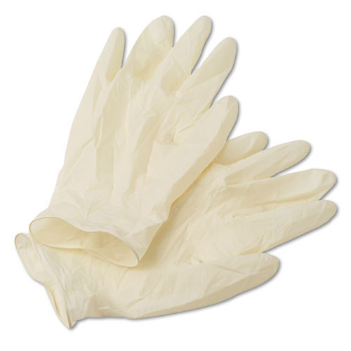 Disposable latex gloves powder free textured grip extra large nonsterile 5 mil dispenser pack of 100 gloves Ansell ans69318xl