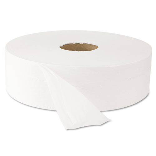 Windsoft WIN203 jumbo bathroom tissue 12 inch 2 ply 2000 foot 3.9x12 case of 6 rolls