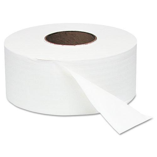 Windsoft WIN202 jumbo jr roll bathroom tissue 9 inch 2 ply 1000 foot 3.57x9 case of 12 rolls