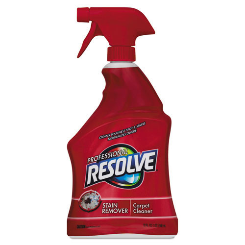 Resolve RAC97402CT Procare carpet shampoo spot cleaner trigger spray 32oz per bottle case of 12 bottles replaces REC97402 RAC97402CT