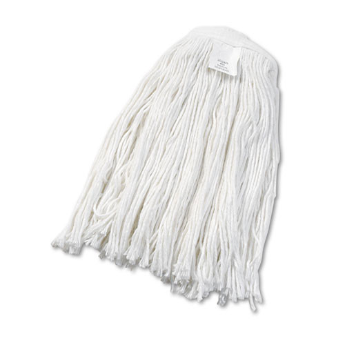 Boardwalk BWK2024RCT rayon mop heads number 24 1 inch headband case of 12 Mops replaces UNS2032C