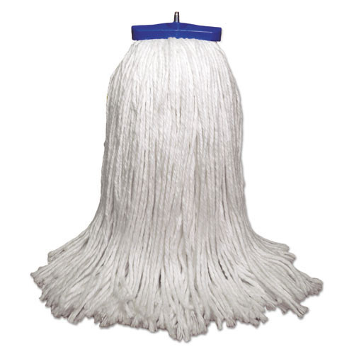 Boardwalk BWK732R lieflat rayon mop heads 32oz bolt style case of 12