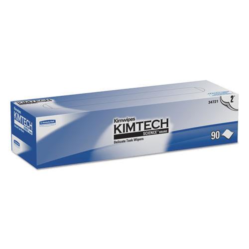 Kimtech kcc34721 science kaydry ex l white 15x16.8 90 bx 15 bx cs case of 1350 wipes