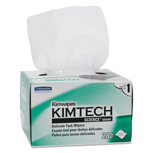 Kimwipes kcc34155ct ex l delicate task white case of 16800 wipes