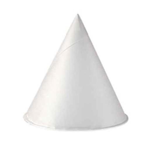 Paper cone water cups 4oz solo 200 per pack 25 packs per case case of 5000 cups replaces scc4r solo cup scc4r2050