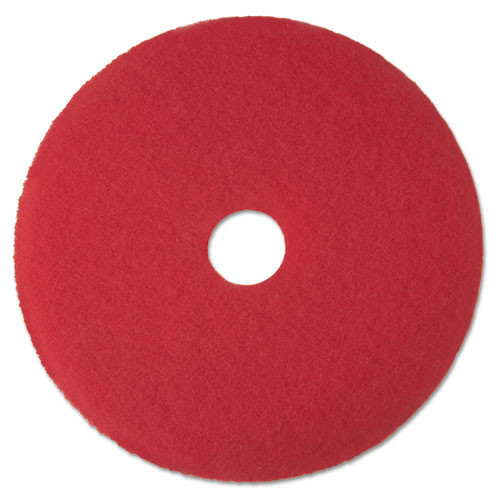 3M 5100 Red Buffing floor pads MMM08388 13 inch for spr