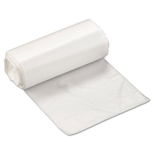 Ibs ibsec171806n 4 gallon trash bags case of 2000 natural 17x18 high density 6 mic regular strength coreless rolls