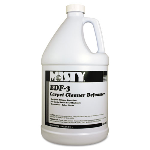 Carpet defoamer Misty Edf 3 one gallon bottles case of 4 replaces amrr8274 amrep AMR1038773
