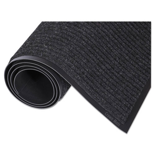 Door mat needle rib indoor wiper scraper mat 36 x 60 charcoal replaces cronr35cha Crown cwnnr0035ch