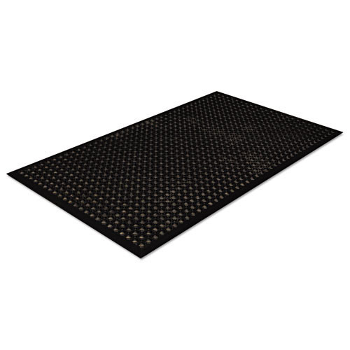Door mat safewalk light 3 x 5 black replaces crowsct35bla Crown cwnwsct35bk