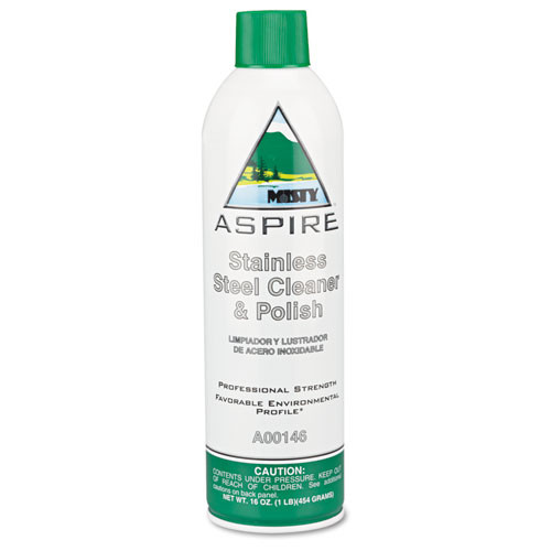 Misty aspire stainless steel cleaner and polish 16 oz case of 12 replaces amra14620 amrep AMR1038047