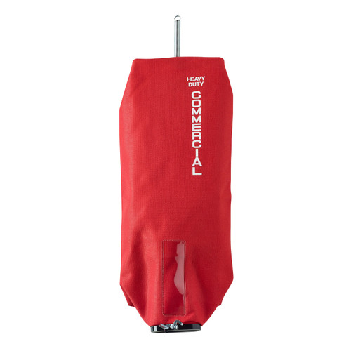 Electrolux 535068 Sanitaire red vacuum cleaner cloth bag tie tex zippered uses F&G paper bags for SC684 886 887 888 899 GW