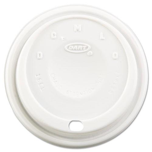 Cappuccino lid white case of 1000 Dart Dcc16el