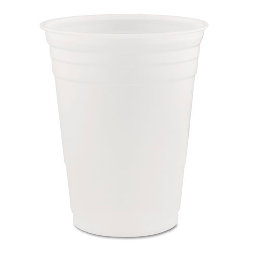 Conex translucent cold cups 16oz cup case of 1000 replaces Dcc16k Dart DCCP16