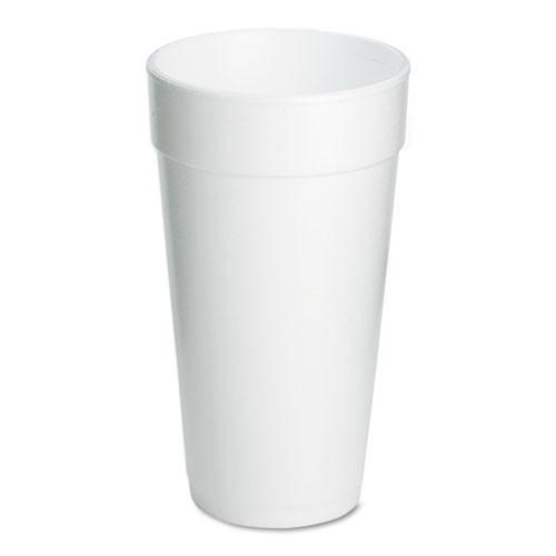 Foam cups 20oz cup case of 500 dart dcc20j16