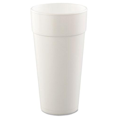 Foam cups 24oz cup case of 500 dart dcc24j16