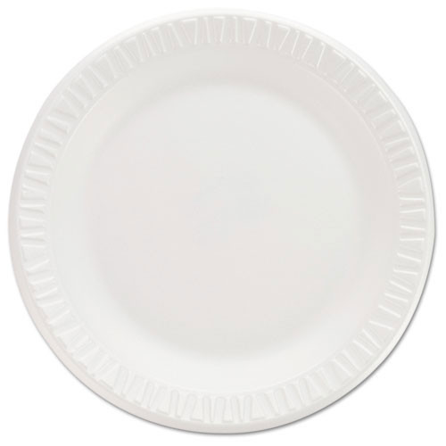 Concorde non laminated foam dinnerware plates 7 inch round case of 1000 plates replaces Dcc7pwc Dart Dcc7pwcr