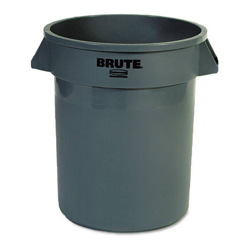 Rubbermaid 2620gra trash can 20 gallon Brute round container gray replaces rcp2620gra rcp262000gra