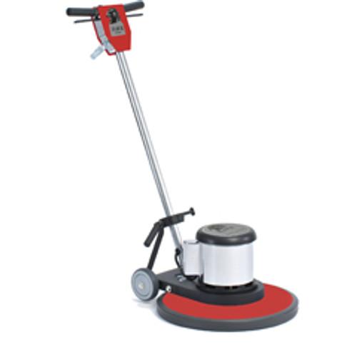 Hawk Floor Buffer Scrubber Machine with pad holder Heavy Duty 17 inch HP1517XHD 1.5 Hp 165 rpm F0009XHD