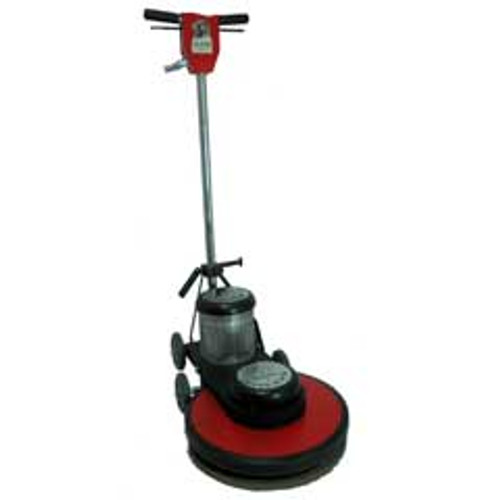 Hawk Floor Buffer Burnisher Machine High Speed 20 inch HP15201800 1.5 Hp 1800 rpm includes pad holder F180020