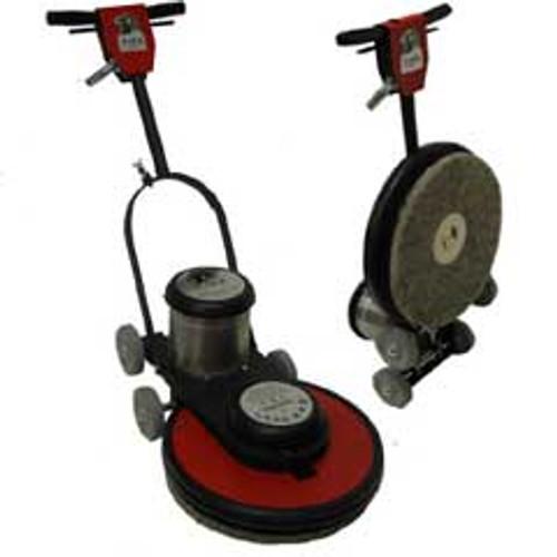 Hawk Floor Buffer Burnisher Machine High Speed 17 inch HCF15172000 1.5 hp 2000 rpm includes pad holder F200017CF