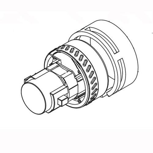 Betco E8153800 vacuum motor 12vdc 250w replaces part number 420672 for Vispa 35B or Genie floor scrubber