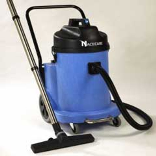 NaceCare WVD902 wet only canister vacuum 8026591 12 gallon dual motor with C2 29 inch Wide Area Squeegee kit