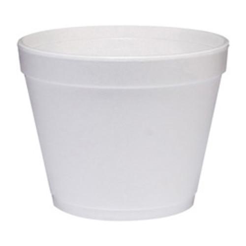 Dart foam container 24oz case of 500 Dart Dcc24mj48