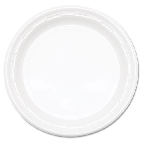 Impact plastic dinnerware 9 inch plate case of 500 dart dcc9pwf