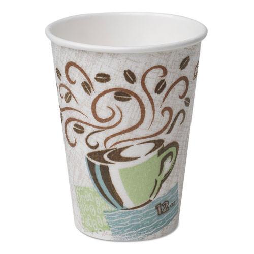 Dixie paper hot cups 12oz Perfect Touch case of 500 replaces Dix5342dx DXE5342DX