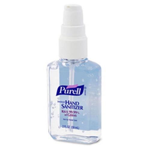 Purell hand sanitizer 2oz personal pump bottle case of 24 Gojo goj960624