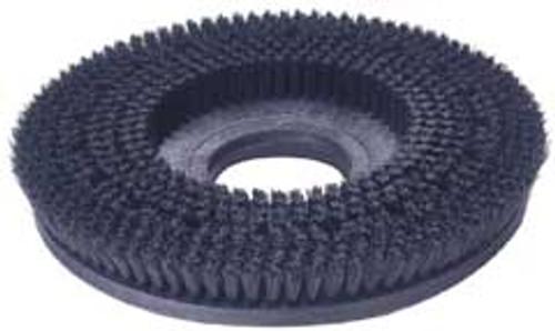 Mercury 2104 floor buffer scrub brush gray .028 polypropylene 19 inch block fits most 21 inch floor buffers includes universal clutch plate type b 92
