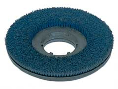 Mercury 2107 floor buffer scrub brush blue .035 nylon 180 grit cleangrit 19 inch block fits most 21 inch floor buffers includes type b 92 universal clutch plate