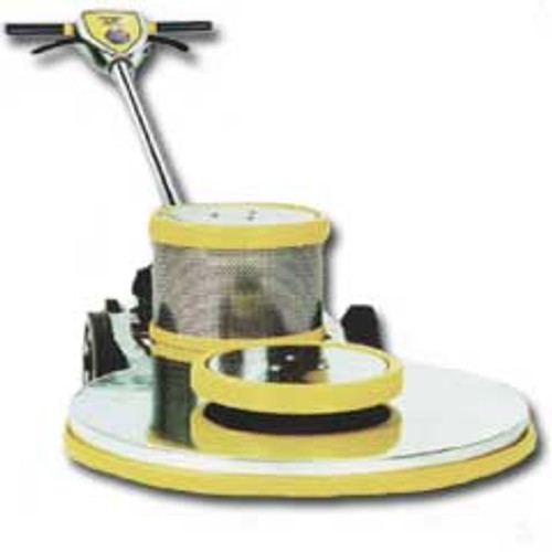 Mercury Ultra DC DC202000 floor buffer burnisher machine with pad holder high speed 20 inch 1.5 hp 2000 rpm