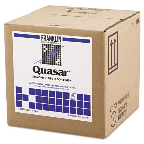 Franklin fklf136025 quasar floor finish 25 per cent solids 5 gallon cube replaces frkf136025