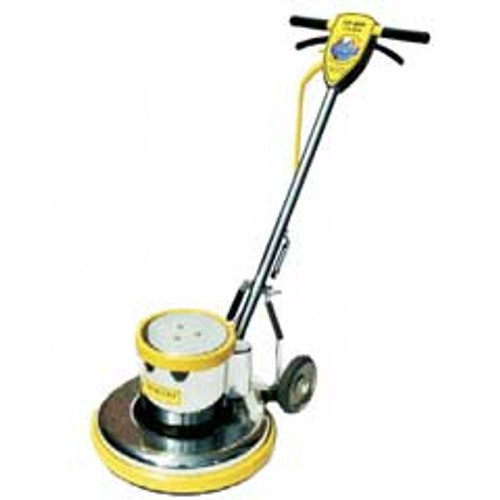 Mercury LoBoy L15E floor buffer scrubber machine super heavy duty 15 inch 175 rpm 1.5 hp electric