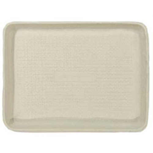 Foodservice tray chinet recycled serving tray 9w x 12d x 1h inch dimensions beige colored case of 250 trays huhtamaki huh20815