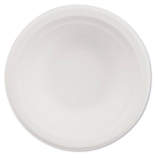 Paper white bowl round chinet premium strength paper dinnerware 12oz size case of 1000 bowls huhtamaki huh21230