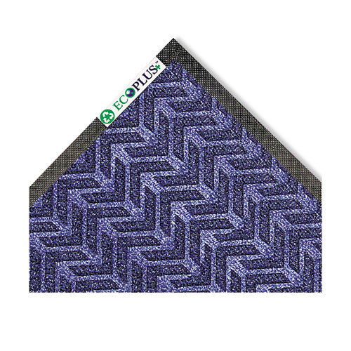 Door mat indoor wiper scraper mat eco plus floor mat 45x70 midnight blue replaces croecr46mbl Crown cwnecr046mb