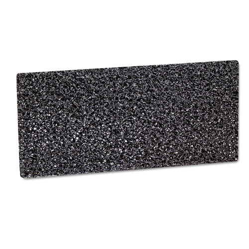 3M 8550 Doodlebug High Productivity black strip pads MMM05241 4.625x10 for heavy duty cleaning and stripping case of 40 pads replaces MCO05241 gw