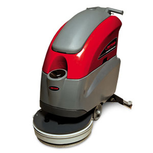 Betco E2993500 Stealth ASD20B automatic floor scrubber 20 inch 10 gallon with two 12v 115ah wet batteries 12amp external charger