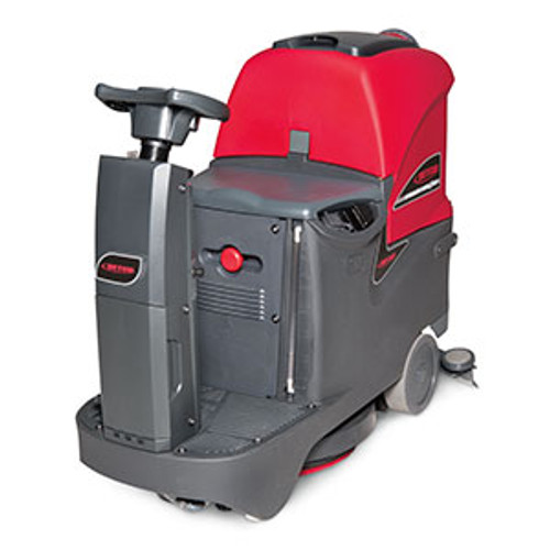 Betco E2996100 Stealth DRS21BT rider automatic floor scrubber traction drive 21 inch 20 gallon with two 12v 130ah wet batteries 12amp charger