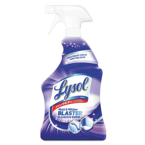 Lysol mold and mildew remover sanitizing and whitening power 32oz trigger spray bottle case of 12 replaces rec78915 rac78915