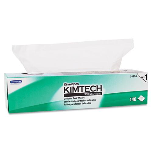 Kimtech KCC34256BX kimwipes tissue 16 3 5x16 5 8 140 box