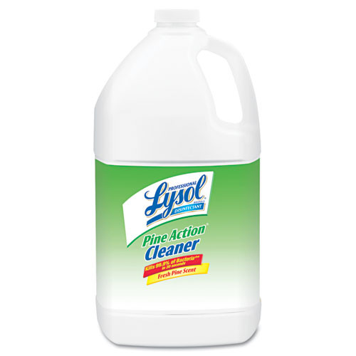 Lysol RAC02814 disinfectant pine action cleaner 1gal bottle